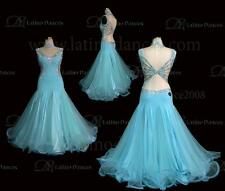 BALLROOM/STANDARD DANCE TAILORED  DRESS WITH HIGH QUALITY  STONE ST93DD