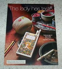 1972 ad page - Eve Cigarettes -the lady has taste- vintage tobacco ADVERT PAGE