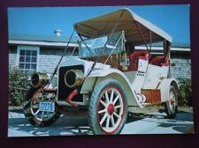 POSTCARD CAR WHITE STEAMER CAR 1910