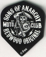 SONS OF ANARCHY Redwood Original Dart Flights: 3 per set