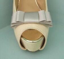 2 Mink Triple Bow Clips for Shoes - other colours on request