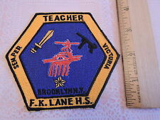 2005 Franklin K Lane Machine Gun East New York Brooklyn PATCH