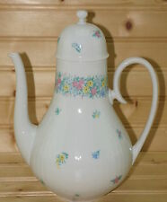 "Rosenthal Garland Multicolor, Romance Coffee Pot, 7 3/8"" with Lid, 9 5/8"""