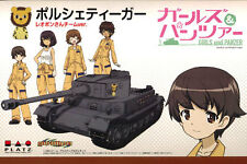Platz 1/35 Girls Und Panzer Tiger Porsche - Leopon Team