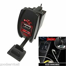 Dual USB Power Waterproof Red Light Charger Carling ARB Rock Motorcycle Car Boat
