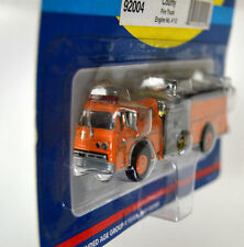 New Athearn HO Scale #92004 County Fire Truck Engine #12, Ford C Series,Orange