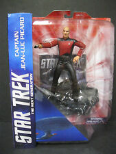 "STAR TREK THE NEXT GENERATION CAPTAIN JEAN-LUC PICARD DIAMOND SELECT 7"" FIGURES"