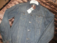 NEXT MENS DENIM JACKET SIZE LARGE BRAND NEW WITH TAGS