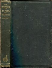 Lightfoot, J B  SAINT PAUL'S EPISTLE TO THE PHILIPPIANS, A REVISED TEXT WITH INT