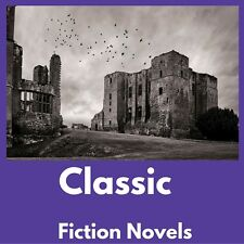 Classic Novels e-Book Collection Kindle~eReader~Nook~Kobo~PC- DVD + FREE BONUS
