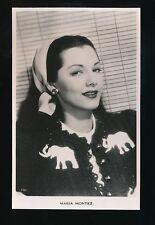 Film Theatre MARIA MONTEZ c1930/40s? RP PPC