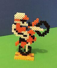 Nintendo NES Excitebike Retro Perler Bead Sprite