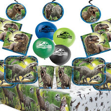 Jurassic World Kids Birthday Party Kit Dinosaur Party Supplies Jurassic Park