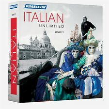 NEW Pimsleur Unlimited ITALIAN Language Course 30 Lessons