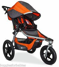 BOB 2016 Revolution Flex Jogging Stroller - Canyon Orange - New! U611859