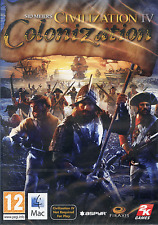 Civilization IV (4) colonizzazione, Apple MAC FULL RETAIL box game Strategia NUOVO
