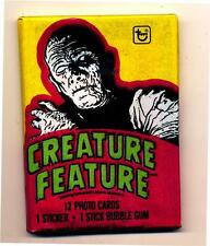 Creature Feature Mummy Trading Card Pack