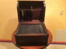 Antique Early 1900's McCaskey Wooden Cash Register with Hanging Files