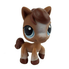 Hasbro Cute Brown Horse Pony LPS Littlest Pet Shop Figure Gift Toy Animals CST