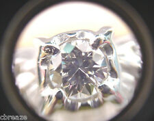VINTAGE STYLE RING DIAMONDS  .42 TCW  STULLER 14K YELLOW and WHITE GOLD