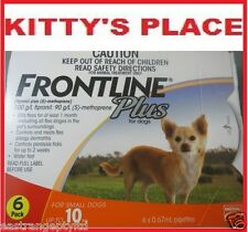 Frontline Plus Flea & Tick Treatment For Small dogs Up To 10kg 6 Pack