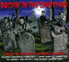 Rockin' in the Graveyard LINK WRAY ELVIS JOHNNY CASH LORD SUCH 2 CD Rockabilly