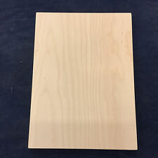 Custom size, Contemporary Maple veneer, flat, slab cabinet door and drawer front
