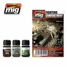 MIG PRODUCTIONS A.MIG7404 - FIGHTING COMPARTMENT SET - NUOVO