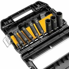DEWALT DW22838 3/8in 10pc IMPACT READY Socket Set Screwdriver Bit Set