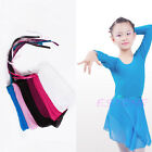 New Child Kids Chiffon Ballet Leotard Tutu Wrap Scarf Skirt Dance Dress 5 Colors