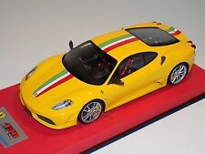 1/18 Looksmart MR Ferrari F430 Scuderia Yellow Italian Stripe  Leather 25 pcs