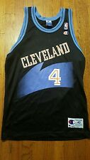 Shawn Kemp Cleveland Cavaliers NBA Champion Jersey adult 40 black away VTG 90s