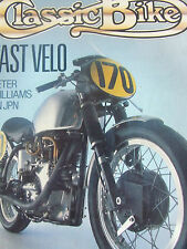 CLASSIC BIKE MAR 1990 FAST VELO PETER WILLIAMS ON JPN NSU BONNIE A65 COMMANDO