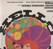 'Hello Dolly' OST 1969 UK Stateside LP G/F w/book. Ex!