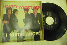 "I NUOVI ANGELI""HAPPY TOGETHER- disco 45 giri DURIM Italy 1967"" BEAT Italy-"
