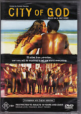 City Of God - DVD Region 4 Brand New Sealed