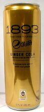"FULL NEW 12oz 355ml American ""Pepsi 1893 Ginger Cola"" USA 2016 Free Trade Sugar"