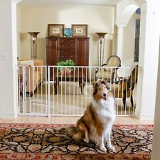 Carlson Pet Product 1210HPW Maxi Extra Tall Walk-Thru Gate with Pet Door NEW