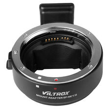 Viltrox Auto Focus AF Lens Mount Adapter Ring for Canon EOS EF EFS to SONY NEX E