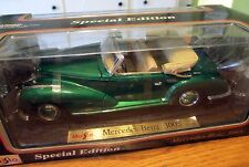 VINTAGE MAISTO MERCEDES BENZ 300S CONVERTIBLE 1955 NEW IN BOX