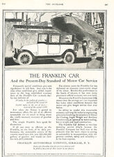 1918 Franklin Automobile -  Original Car Advertisement Print Ad J295