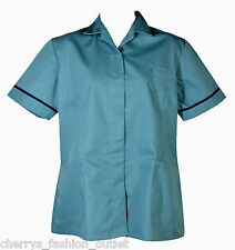 ALEXANDRA WORKWEAR WOMENS UNIFORM TUNIC SHIRT NHS NURSE CARER UK 22 EU 50 PS746