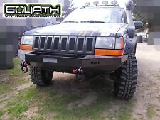 Jeep Grand Cherokee ZJ (1993 - 95) Winch Front Steel Custom Bumper