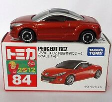 Tomy Tomica PEUGEOT RCZ No.84 Special Red 1 : 64