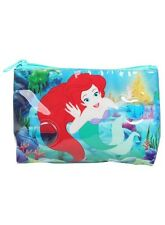 Disney Ariel The Little Mermaid Swim Liquid Bubbles Makeup Cosmetic Bag NWT!