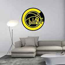 "FK Bodo Glimt FC Norway Football Soccer Wall Decor Sticker Decal 22""X22"""