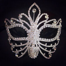 Rhinestone crystal masquerade mask base-party mask DIY deco mask -face mask -