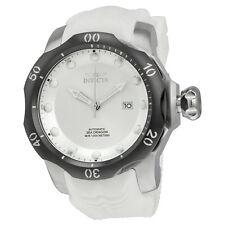 Invicta Venom Automatic White Dial White Silicone Mens Watch 19304