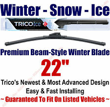 "22"" WINTER Wiper Blade - Super Premium Beam-Style - 2010-2014 - Trico ICE 35-220"
