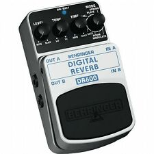 Behringer DR600 Digital Stereo Reverb Effects Pedal
